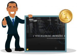 nexylan meilleur hébergement serveur dédié