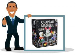Coffret de magie pour enfant Grimaud- Chapeau Magique