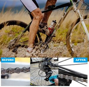brosse nettoyage chaîne vélo