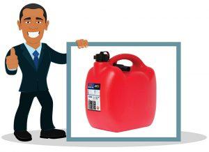 Bidon à carburant Sumex t avec Flexible Homologue EU 10 L