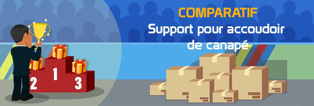 comparatif Support pour accoudoir de canapé