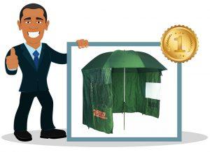 Parapluie de peche Zebco 9974250