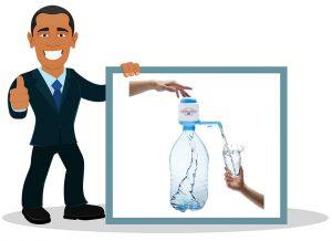 Pompe à eau pour bouteille Agua Quick