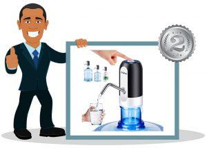Pompe à eau pour bouteille Kavavo