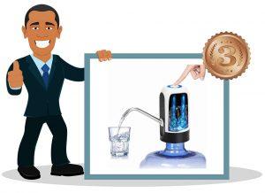 Pompe à eau pour bouteille STLOVe