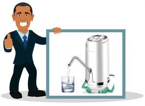 Pompe à eau pour bouteille Winbang