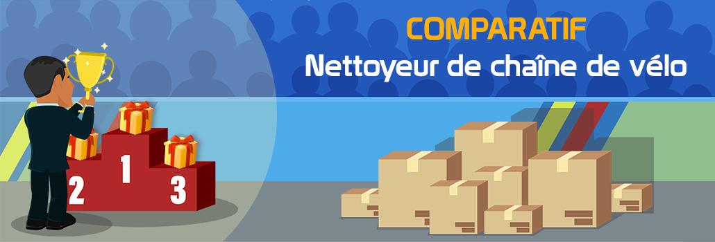 comparatif Nettoyeur de chaîne de vélo