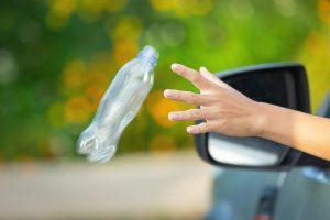 pollution bouteille plastique